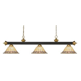 Fleur De Lis Living Billington 3-Light Pool Table Lights Pendant