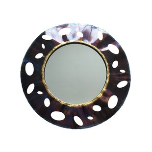 Bloomsbury Market Caressa Metal Accent Mirror