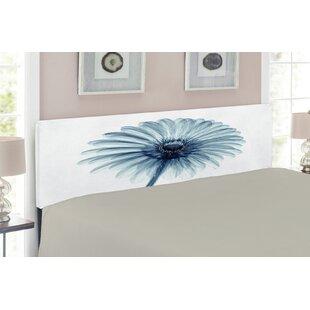 Flower Upholstered Panel Headboard