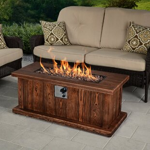 Bond Manufacturing Asheville Envirostone Propane Fire Pit Table