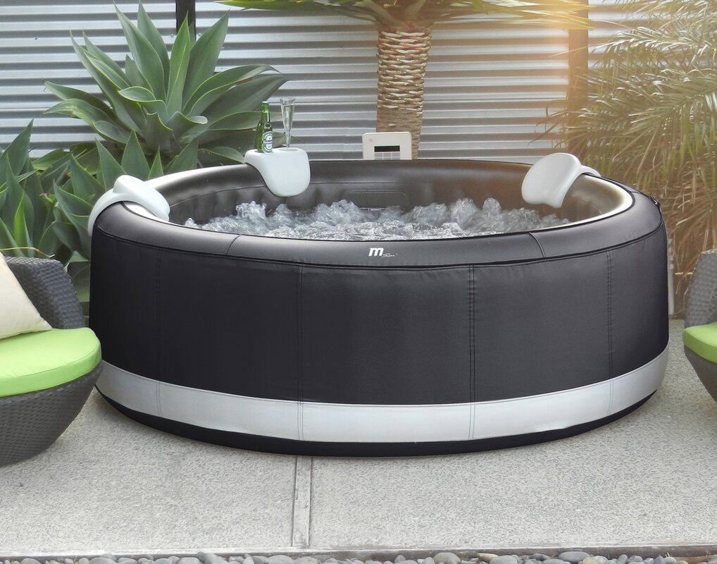 4-Person 110-Jet Inflatable Plug and Play Spa