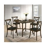 Torrence Placer 5 Piece Round Dining Set by Gracie Oaks