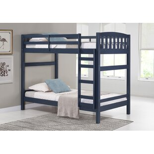Jayne Adaptable Twin over Twin Bunk Bed by Harriet Bee