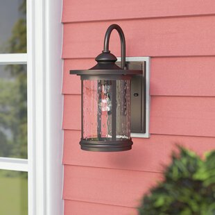 Three Posts Ashendon 1-Light Outdoor Wall Lantern