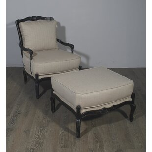 Darby Home Co Beveridge Lounge Chair and Ottoman