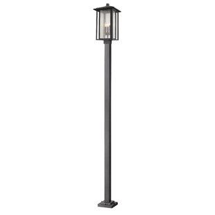 Bloomsbury Market Hungate 3-Light Outdoor Lamp Post
