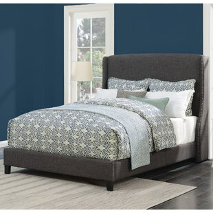 Dressler Queen Upholstered Platform Bed