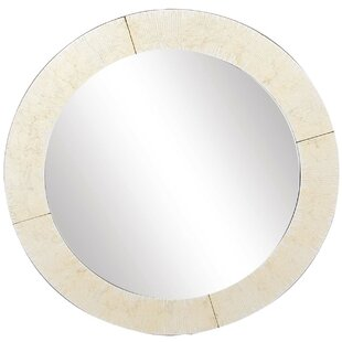 Darby Home Co Gehrke Modern Round Framed Accent Mirror