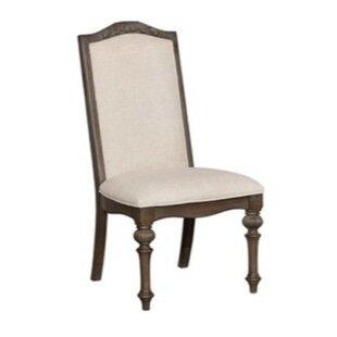 Ghislaine Padded Side Chair (Set of 2) by Rosalind Wheeler