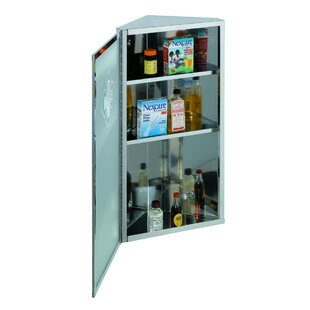 Polito 1187 x 2362 Surface Mount Frameless Medicine Cabinet by Symple Stuff