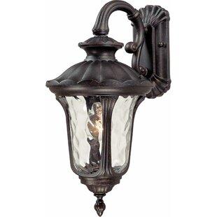 Tavira 1-Light Outdoor Wall Lantern by Volume Lighting
