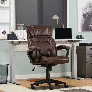 Compare prices Style Hannah I Executive Chair by Serta at Home Reviews (2019) & Buyer's Guide