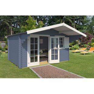 Wiest 14 X 14 Ft. Tongue & Groove Summer House By Sol 72 Outdoor