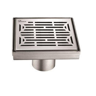 Square 2 Linear Grid Shower Drain by Dawn USA