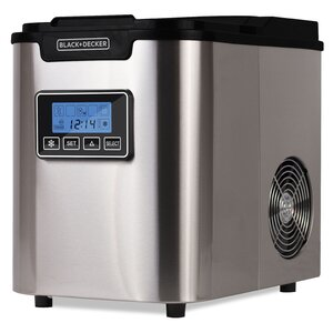 26 lb. Daily Production Portable Clear Ice Maker