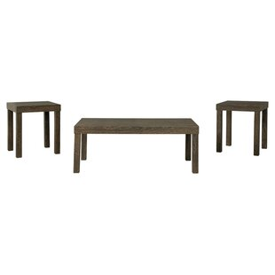 Great Price Makayla 3 Piece Coffee Table Set By Wrought Studio