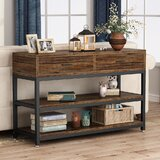 Kamp 40 Console Table by 17 Stories