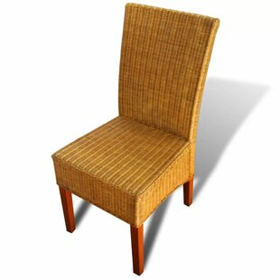 Jonesport Rattan Garden Chair (Set Of 2) By Beachcrest Home
