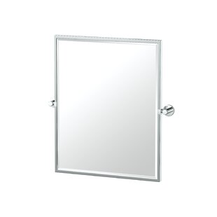 Gatco Glam Framed Rectangle Wall Mirror