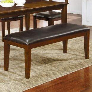 Evansville Upholstered Bench by Red Barrel Studio