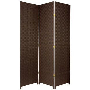 Samuelson Outdoor All Weather 3 Panel Room Divider by Bloomsbury Market