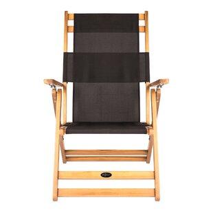 Varadero Reclining/Folding Beach Chair by PatioSense