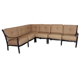 California Outdoor Designs Baldwin Deep Seating Sectional Piece with Cushions