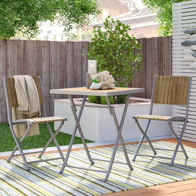 Allen 3 Piece Bistro Set by Beachcrest Home Savings