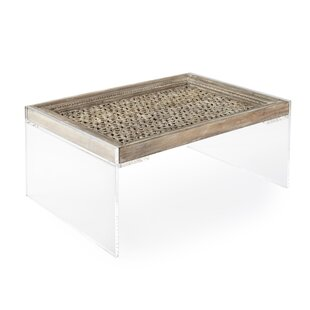 Square Feathers Phillips Door Coffee Table