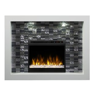 Crystal Recessed Electric Fire..