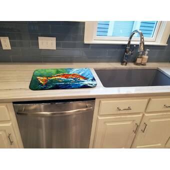Interdesign Kitchen Sink Protector Flatware Organizer And Sponge Holder Reviews Wayfair