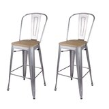 Rene 30 Bar Stool (Set of 2) by 17 Stories