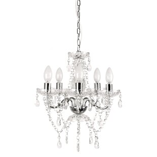 5-Light Candle Style Chandelier