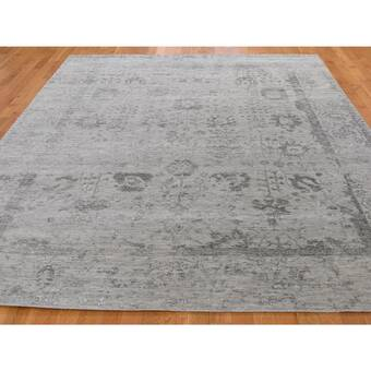 Isabelline One Of A Kind Noicolina Hand Knotted Ivory 10 X 14 Area Rug Wayfair