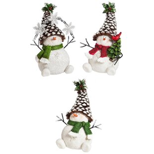 "5 Yards Christmas Country Snowmen Snowman Folk Cute Wired Ribbon 2 1//2/""W"