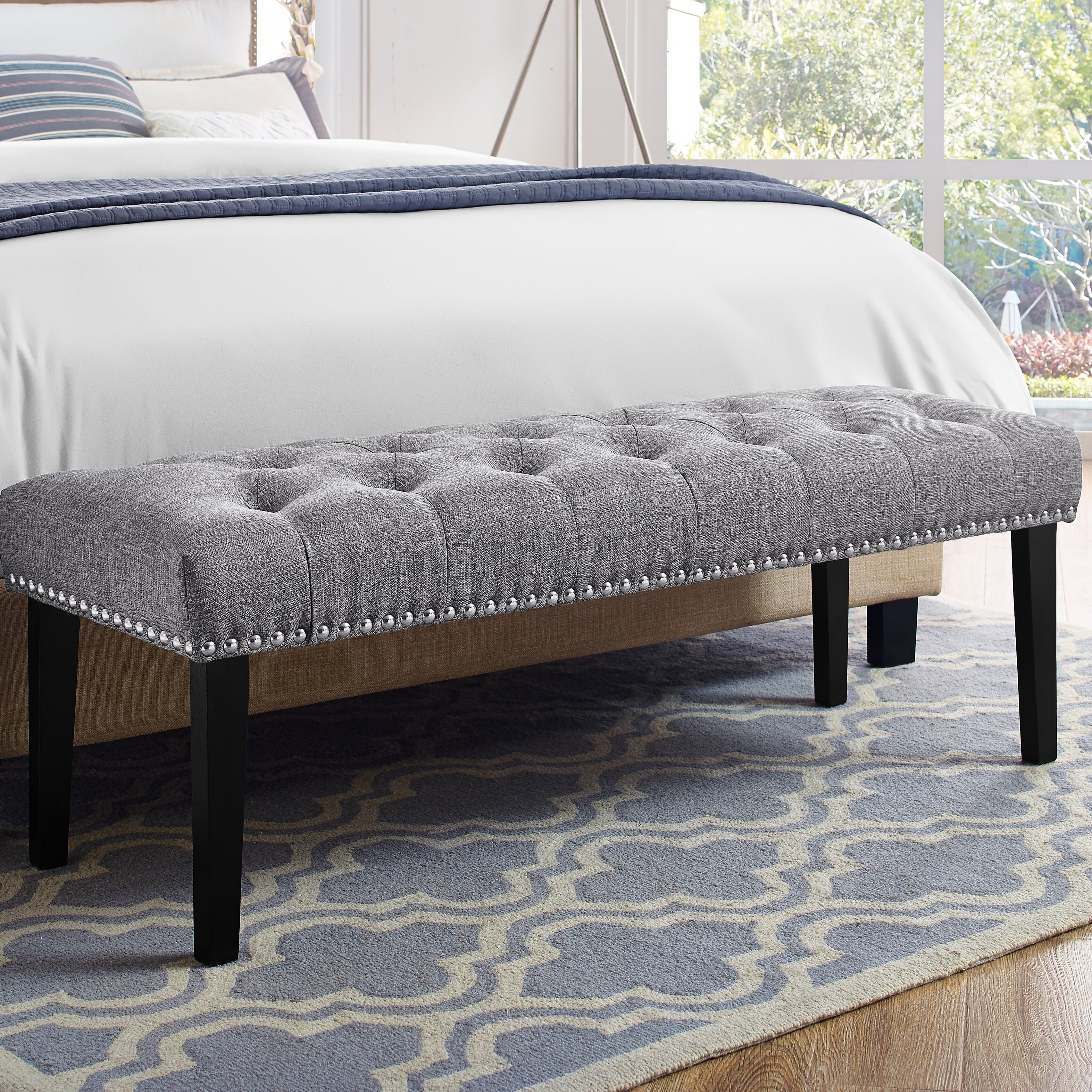 Bedroom Benches Up To 55 Off Through 02 16 Wayfair