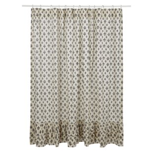 Looking for Aurelia Ruffled Cotton Shower Curtain By August Grove