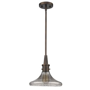 Houghtaling 1-Light Cone Pendant by Orren Ellis