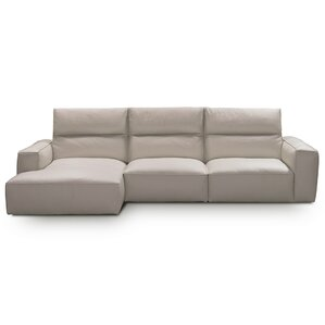 Savini Leather Sectional b..