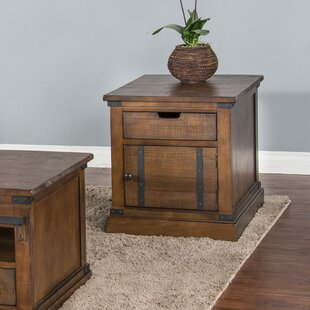 Macedon End Table by Gracie Oaks