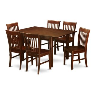 Picasso 7 Piece Extendable Dining Set Wooden Importers