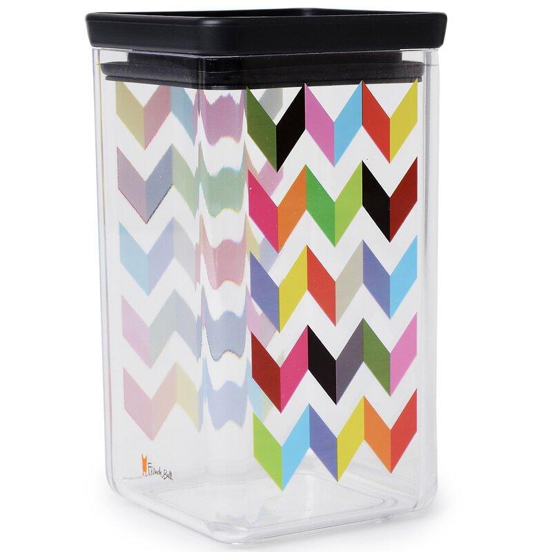 French Bull Ziggy Medium Dry 54 Oz. Food Storage Container (Set of 2)