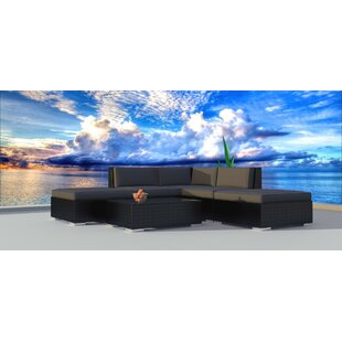 Dana 6 Piece Sectional Set with Cushions
