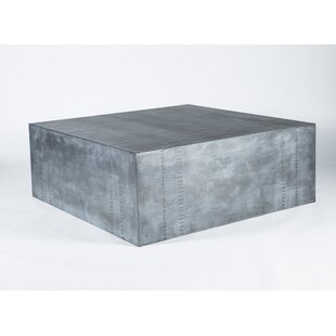17 Stories Silvia Hammered Coffee Table