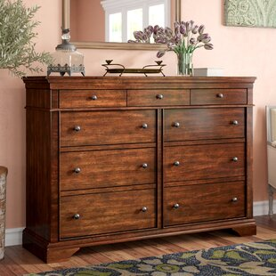 Birch Lane™ Schaffer 9 Drawer Double Dresser