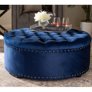Palen Tufted Cocktail Ottoman by House of Hampton