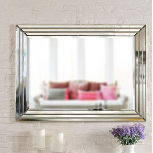 Comparison Vesta Accent Mirror By House of Hampton