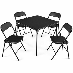Beeman 5 Piece Dining Set by Symple Stuff