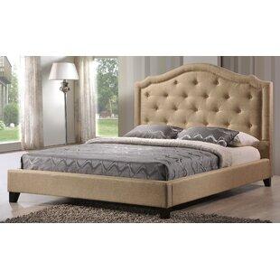Valente Upholstered Platform Bed by DarHome Co