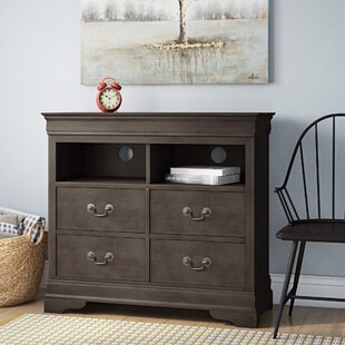 Lisle 4 Drawer Media Chest